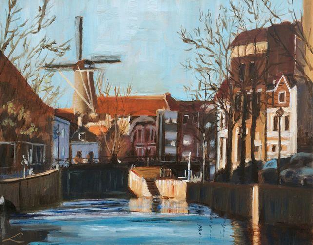 The view of Schiedam