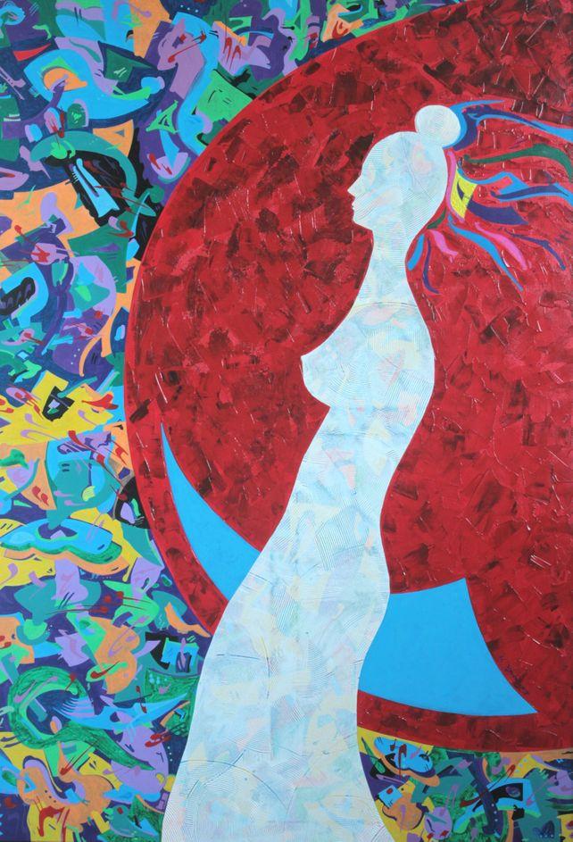 Costana Swaying on the Moon. Innocence of Desire