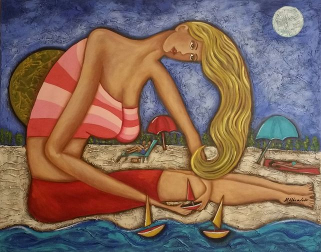 DREAMING ON THE BEACH