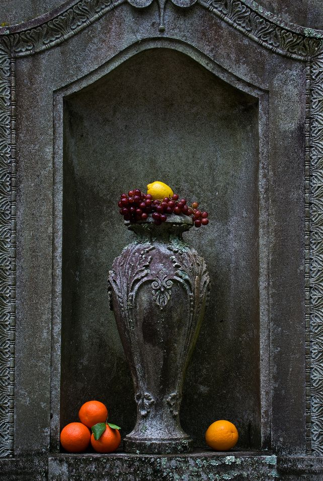 Urn with Fruit
