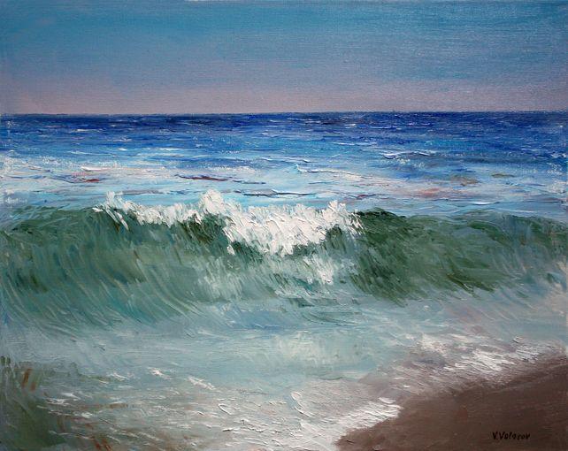 Wave near the beach