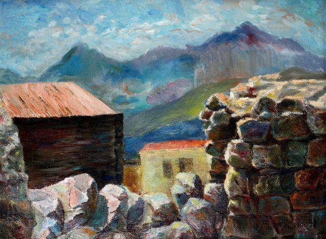 Village on the Mountains