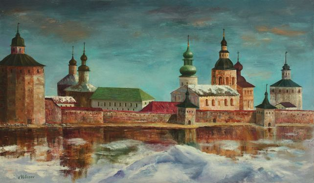 The Oldest Russian Monastery