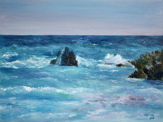 At the shores of Bermuda