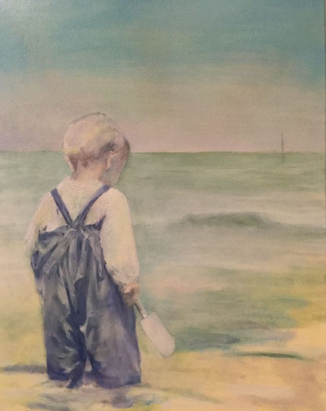 A Child on the Beach that Day, 1905