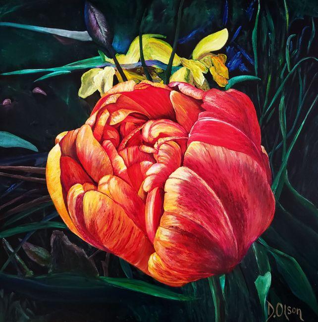 Tulips Lautrec