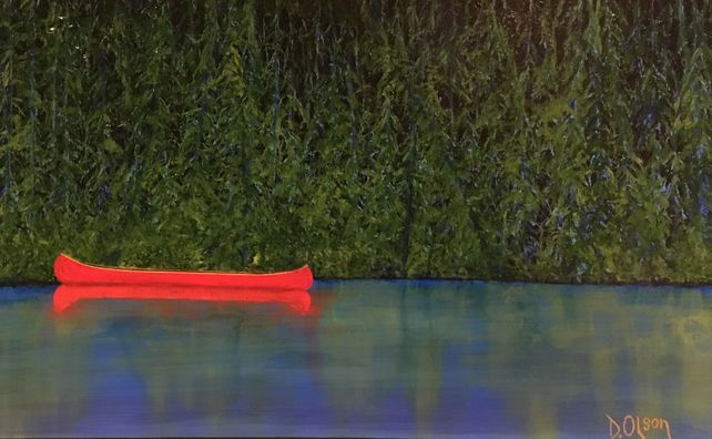 ' Red Boat' (On the Missinnippi)