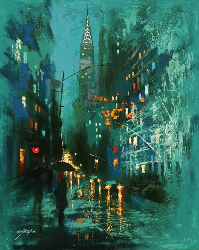 The Mysterious Night in Lexington Avenue
