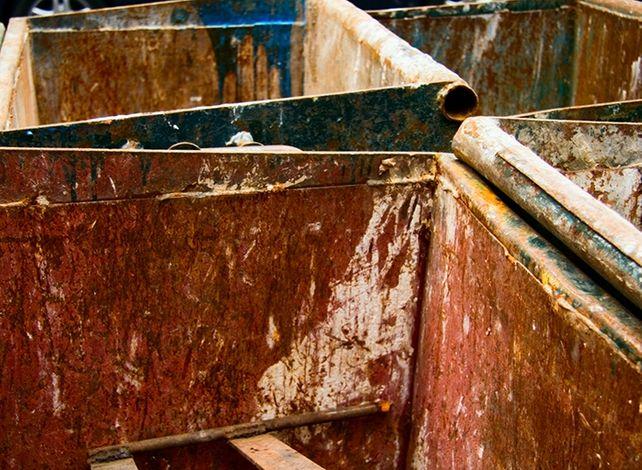 Rusted Bins 1, New York