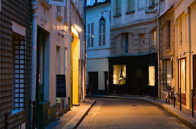 Paris Street, Near the Rue Buci
