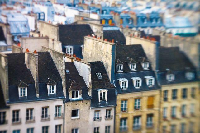 Dreaming of Paris Rooftops, 1
