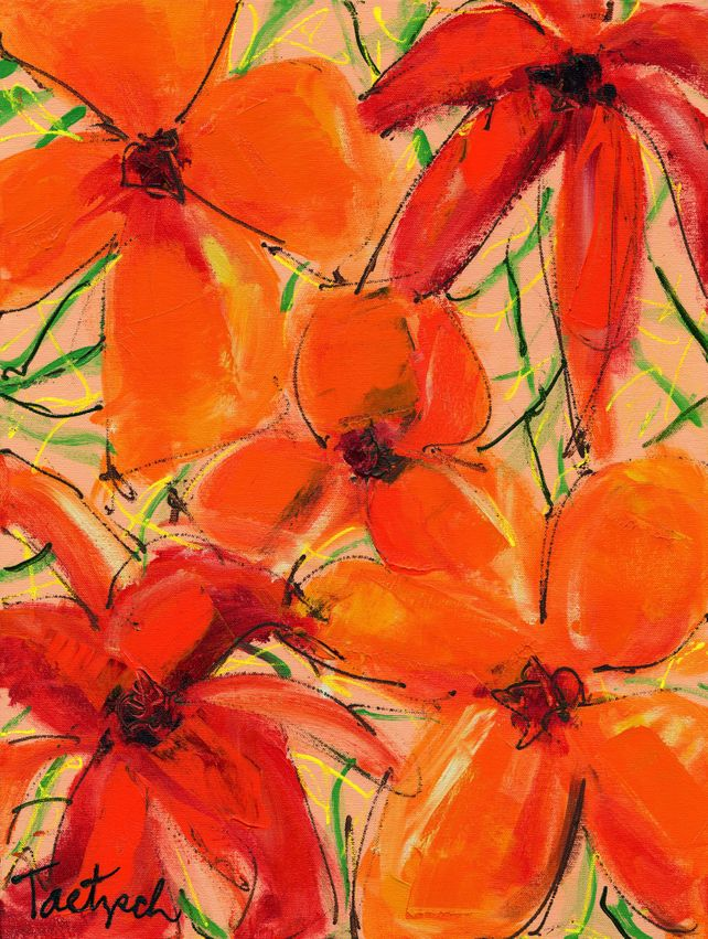 Abstract Floral Two