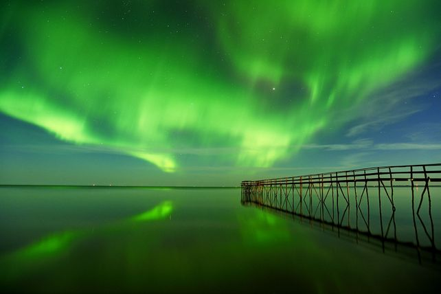 'Dance of the Northern Lights' by Mike Grandmaison