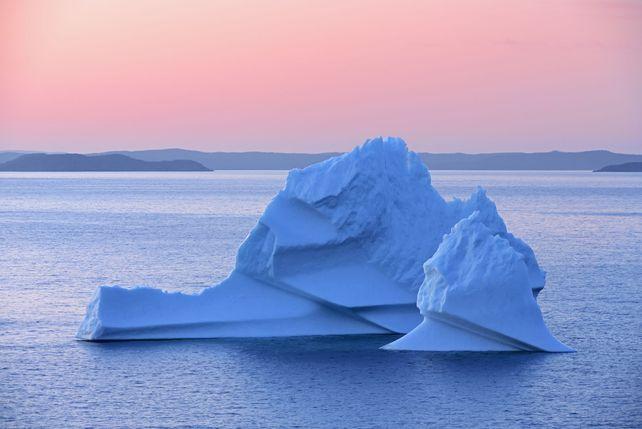 'Iceberg at Dusk' by Mike Grandmaison