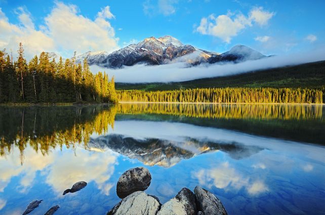 'Pyramid Lake Reflection' by Mike Grandmaison