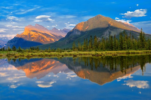 'Evening at Vermillion Lakes, Banff'
