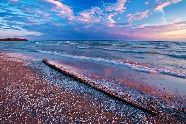 'Lake Ontario Sunset' by Mike Grandmaison