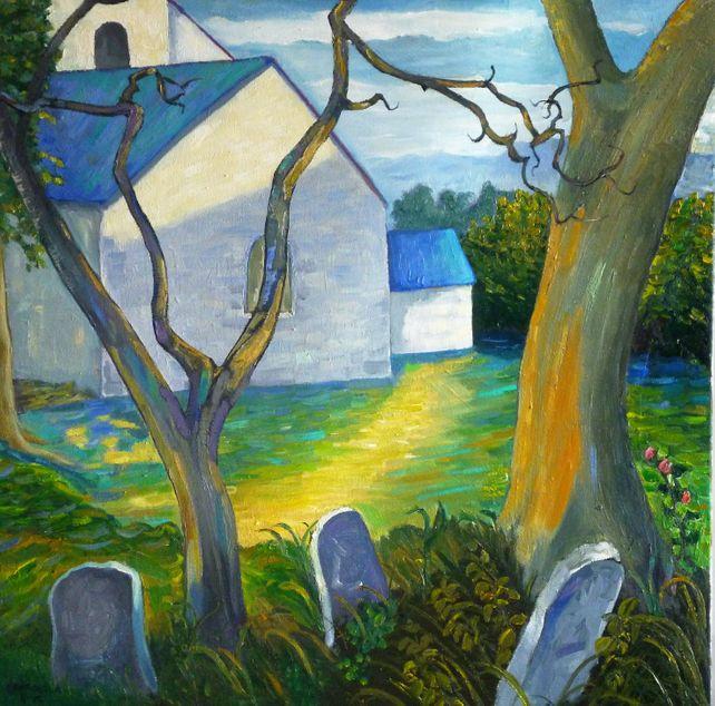 The Old Churchyard