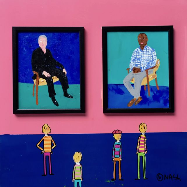Hockney's Portraits
