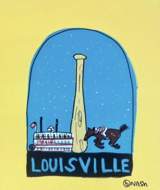 Louisville Snow Globe