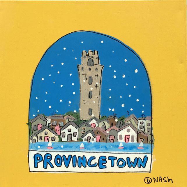 Provincetown Snow Globe