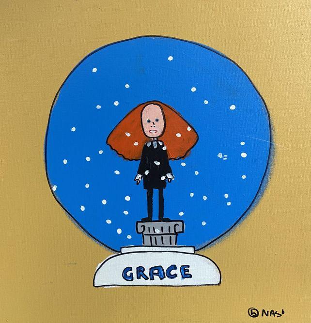 The Grace Coddington Snow Globe