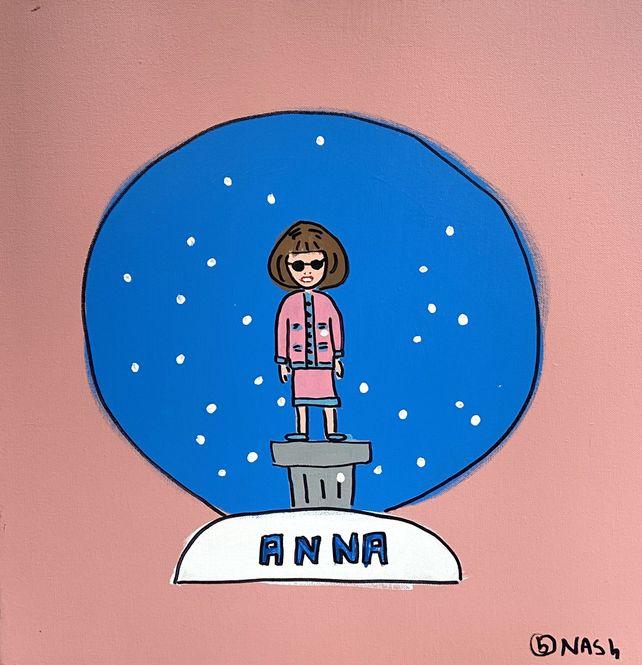 The Anna Wintour Snow Globe