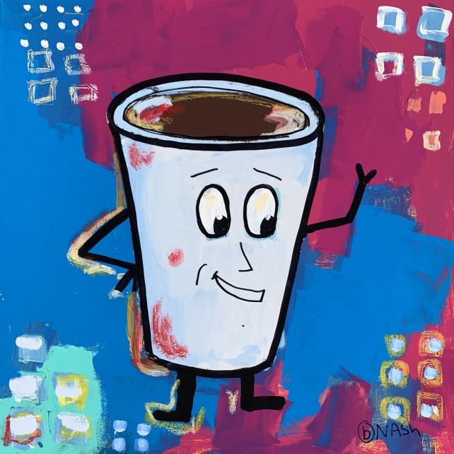 CoffeeMan says Hey!
