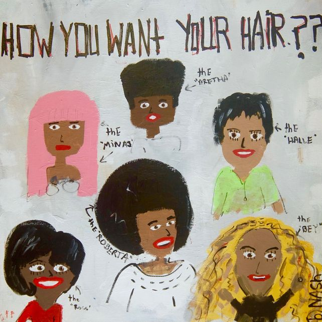 How you want your hair