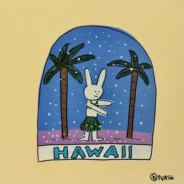 Hawaii Snow Globe