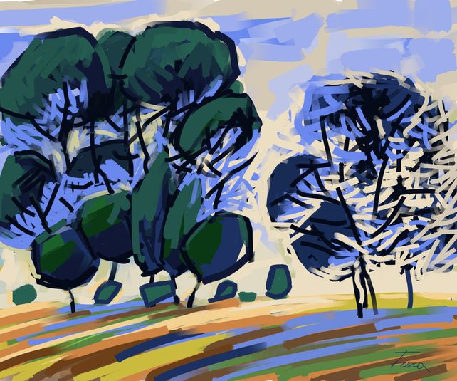 Landscape abstract 1