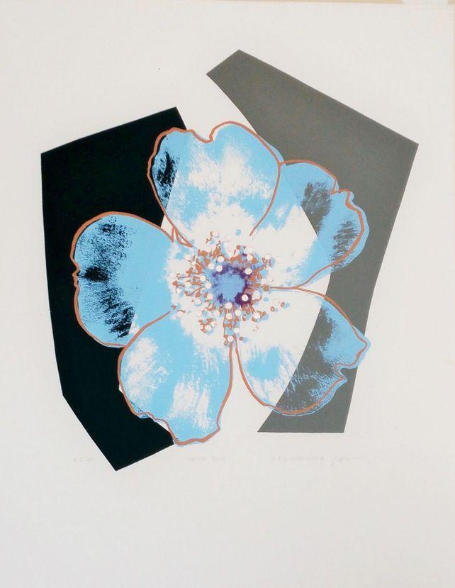 Blue Desert Rose