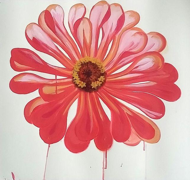 Big Pink Flower II