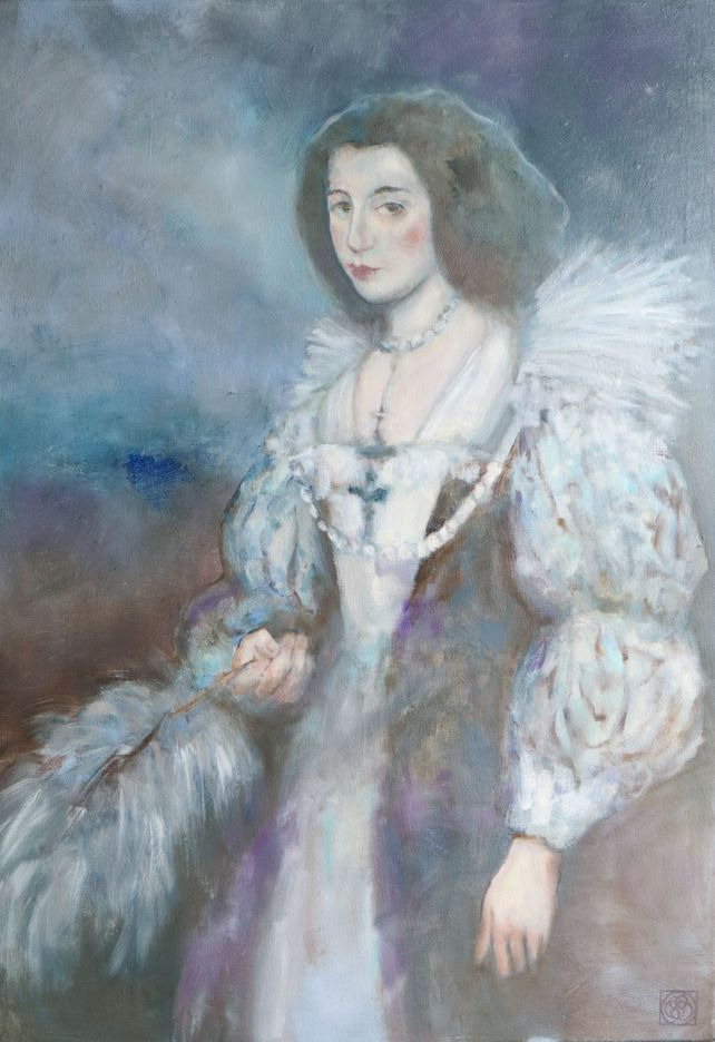 Marie-Louise (after Van Dyck)