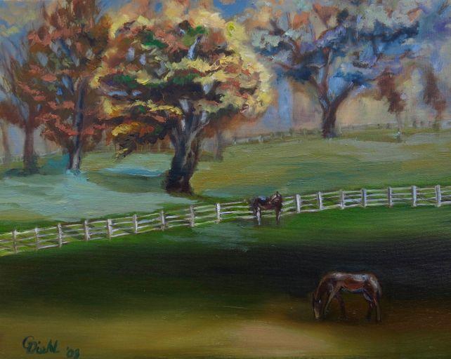 Horse Country (FRAMED)