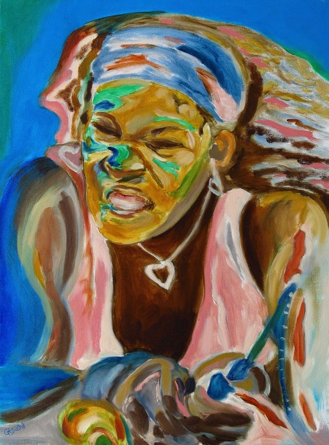 Serena....Famous Woman Tennis Figure