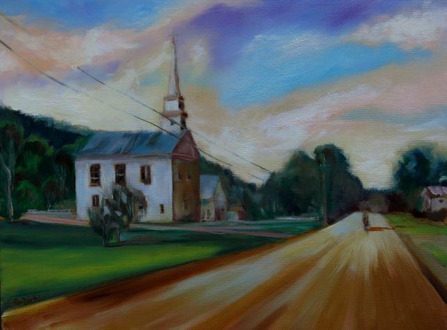 Country Church (FRAMED)