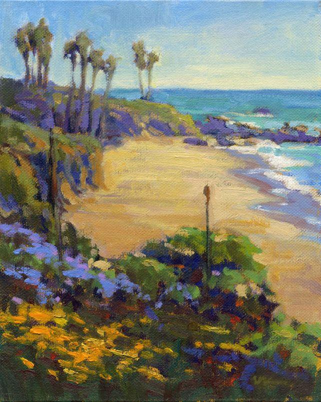 Spring in Heisler Park, Laguna Beach
