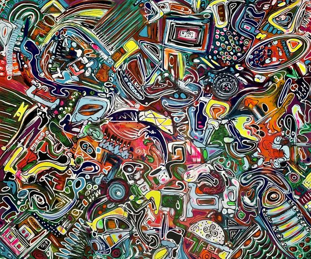 78''X65''(200X165CM), LIFE IN COLORS 20