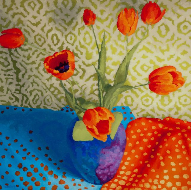 Tulip Dance with Dot