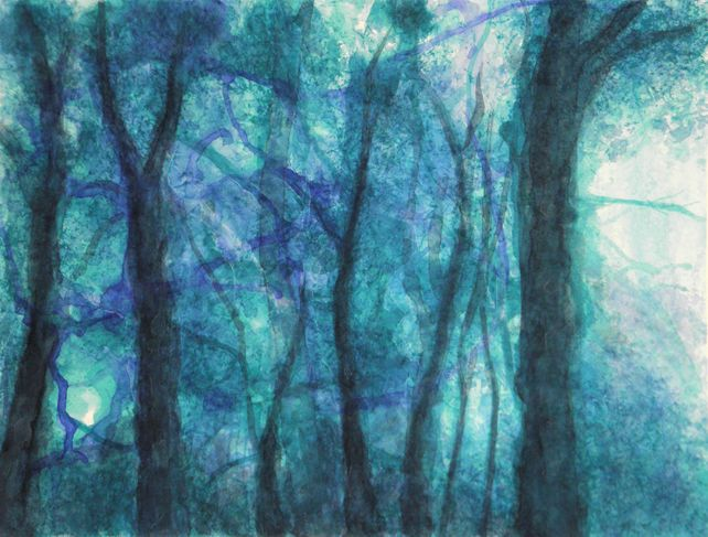 In the woodland : The witches trees #2