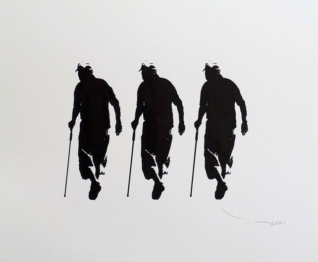 Tehos - Three old men with canes
