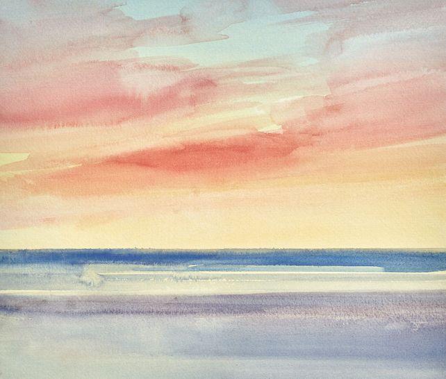 Twilight shore