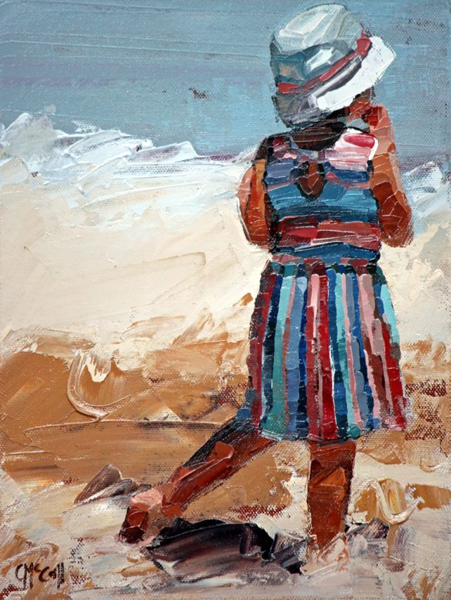 Day At The Beach II - Limited Edition Giclee 8/100