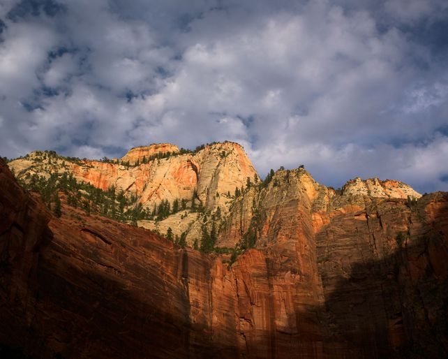 Zion Is A Mountain.