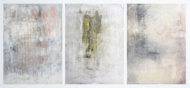 """wall impressions series""  (triptych)"