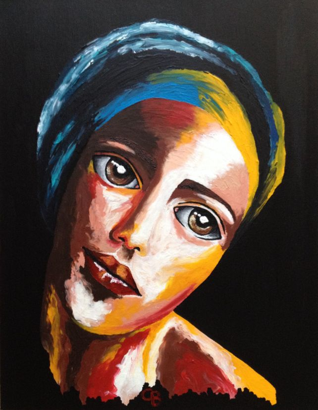 Tenderness 35x45cm on canvas