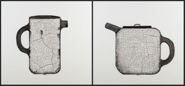 Together Forever - Diptych