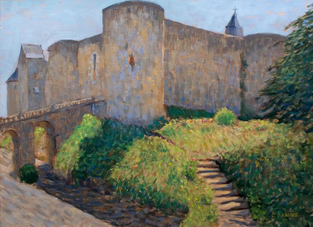Medieval Fortress, Chateau de Luynes Loire Valley