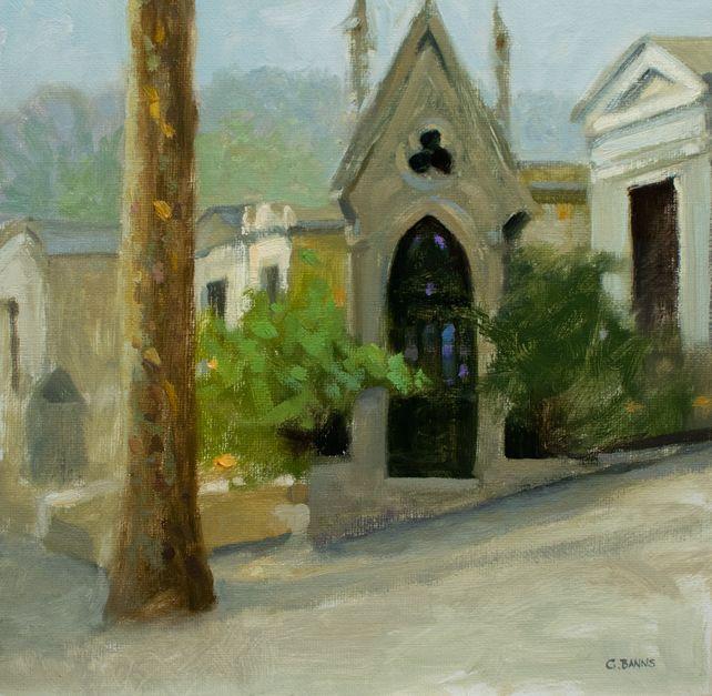 Impressionist Paris - Pere Lachaise City Cemtery